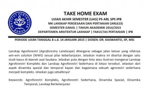 Take Home Exam LPP
