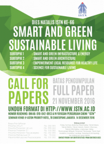 Smart and Green Sustainable Living