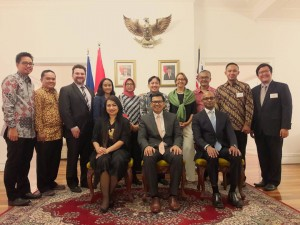 Welcome Reception: Indonesian Consul General AIC AILP 2017