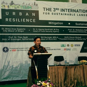 Speech on The 3rd ISSLD 2017 as the Chairman