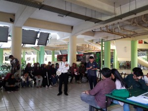 Mini Workshop Pengantar Ekologi Lanskap