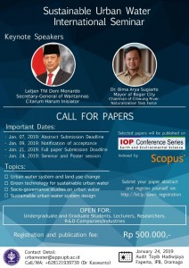 Call for Paper SUWIS2019